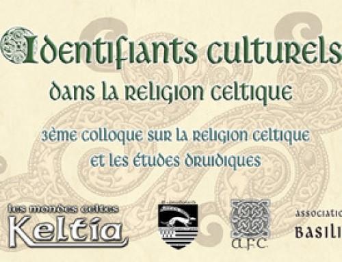 3ème colloque relatif à la religion celtique et les études druidique