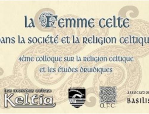 '4ème colloque relatif à la religion celtique et aux études druidiques'