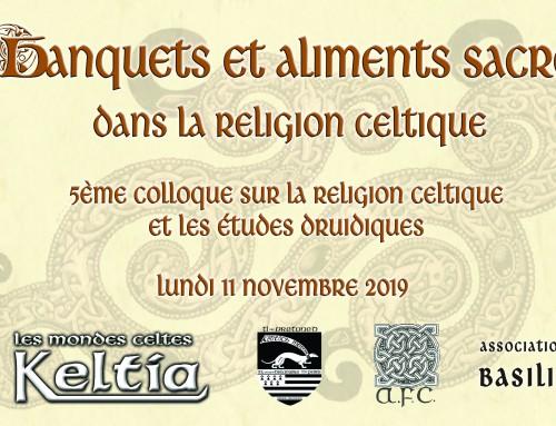 5e Colloque relatif à la religion celtique et aux études druidiques